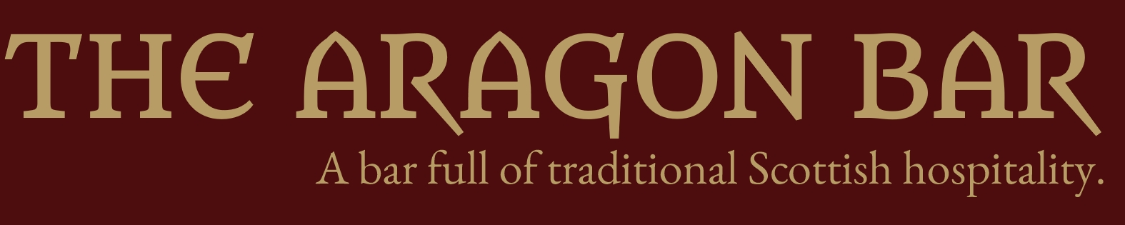 The Aragon Bar, Glasgow